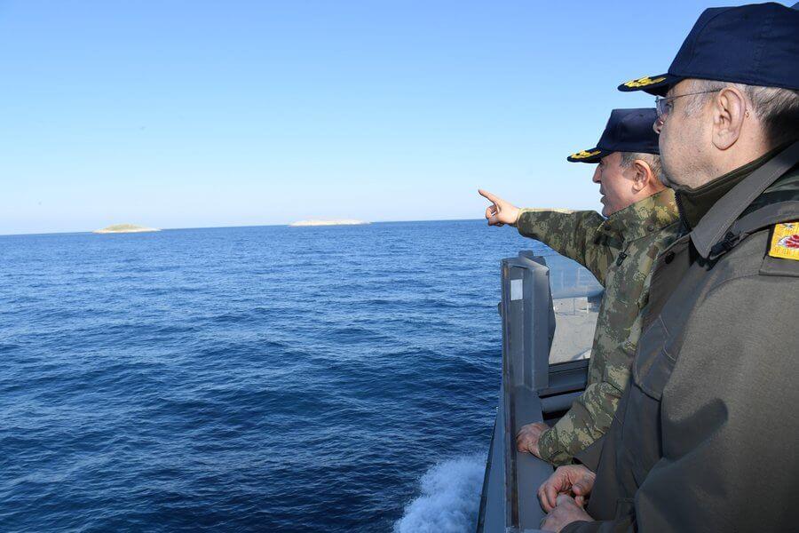 Νέα ένταση στα Ίμια – Επεισόδιο μεταξύ σκαφών της ελληνικής και της τουρκικής ακτοφυλακής (video)