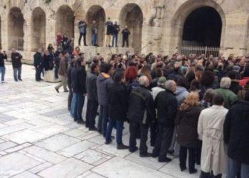 Ηρώδειο- Κυριακή πρωί: Ο Σώρρας κι οι οπαδοί του ορκίζονται στον Δία (ΒΙΝΤΕΟ)