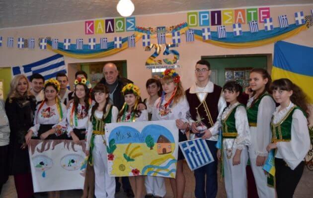 Δέσμευση Κουίκ στους Έλληνες της Ουκρανίας: «Δεν θα σας εγκαταλείψουμε» (φωτο)