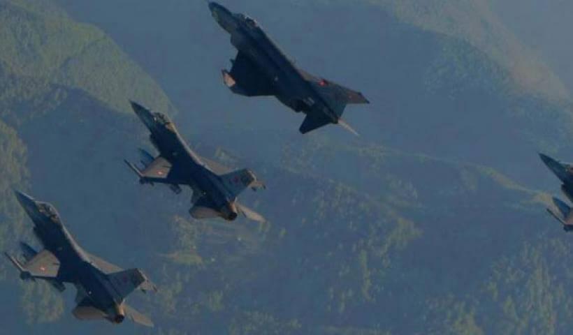 Δύο εικονικές αερομαχίες ελληνικών-τουρκικών μαχητικών