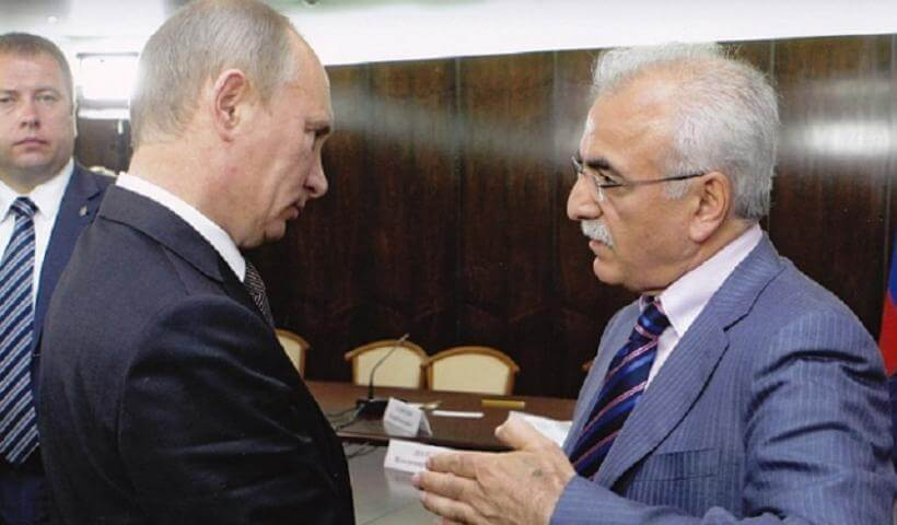 Οι ευχές Πούτιν στον Ιβάν Σαββίδη