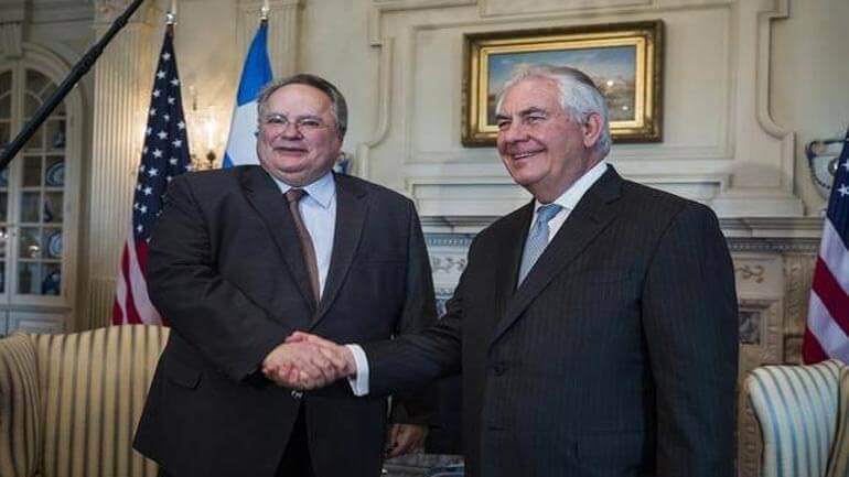 Κοτζιάς – Τίλερσον: Επί τάπητος τα ελληνοτουρκικά, το Κυπριακό και η Ενέργεια