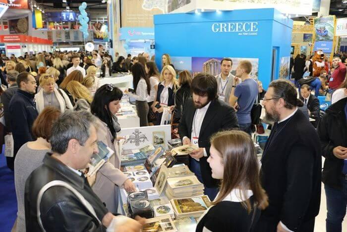 Στη Διεθνή Έκθεση Τουρισμού στην Ουκρανία η Εκκλησία της Ελλάδος