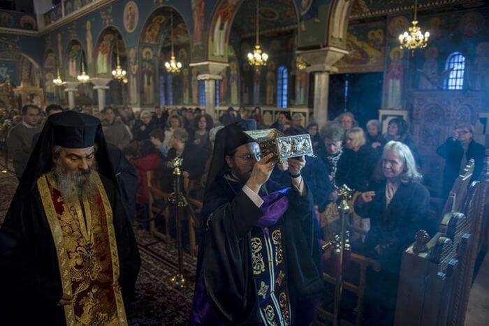 Υποδοχή Λειψάνων Αγίου Ραφαήλ, Νικολάου και Ειρήνης στο Βόλο (ΦΩΤΟ)