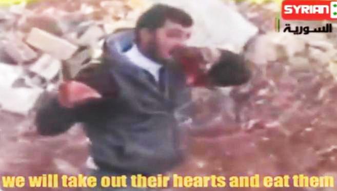 Ανθρωποφάγοι των απίστων για να πάνε στον …παράδεισο τους(σκληρές εικόνες!)
