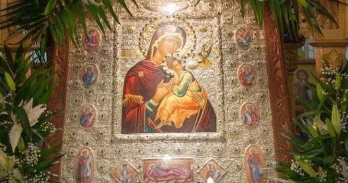 Ιερά Εικόνα της Παναγίας Φιλανθρωπινής: Από το Άγιο Όρος στην Ευξεινούπολη
