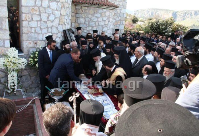 Η ταφή του μακαριστού Μητροπολίτη Σεραφείμ (ΒΙΝΤΕΟ & ΦΩΤΟ)