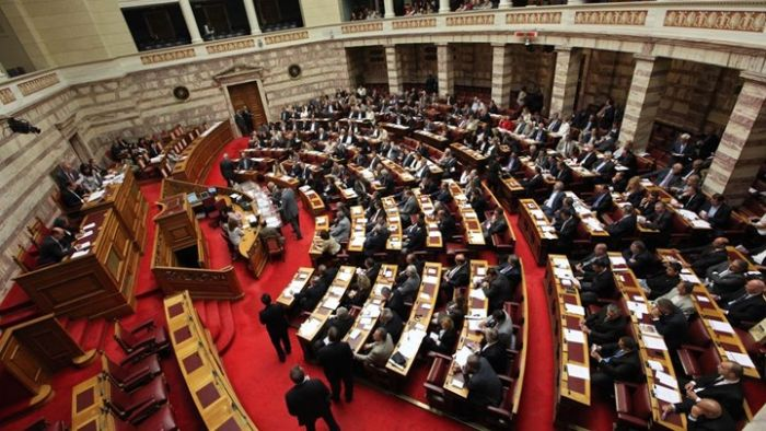 Σύνδεση με τον Τηλεοπτικό Σταθμό της Βουλής των Ελλήνων
