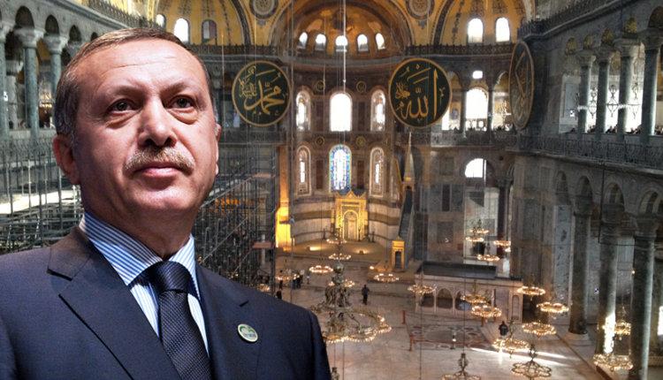 Γιατί άλλαξε γνώμη ο «Σουλτάνος» της Τουρκίας Ερντογάν και δεν προσευχήθηκε στην Αγία Σοφία…Τι ή ποιόν φοβήθηκε;