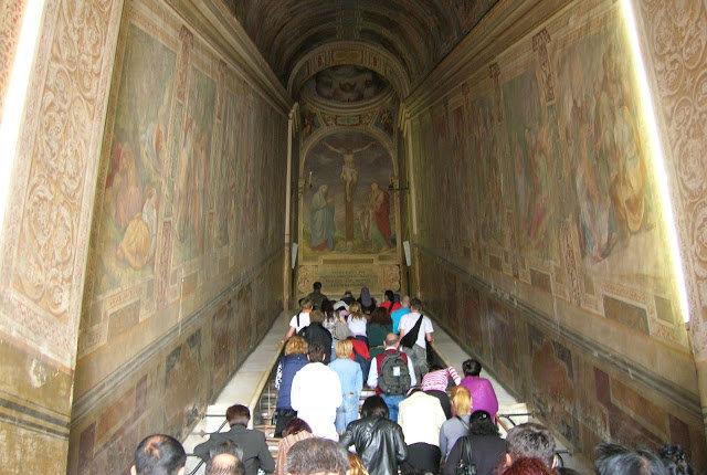 Η Αγία Σκάλα που ανέβηκε ο Κύριος και που βρίσκεται