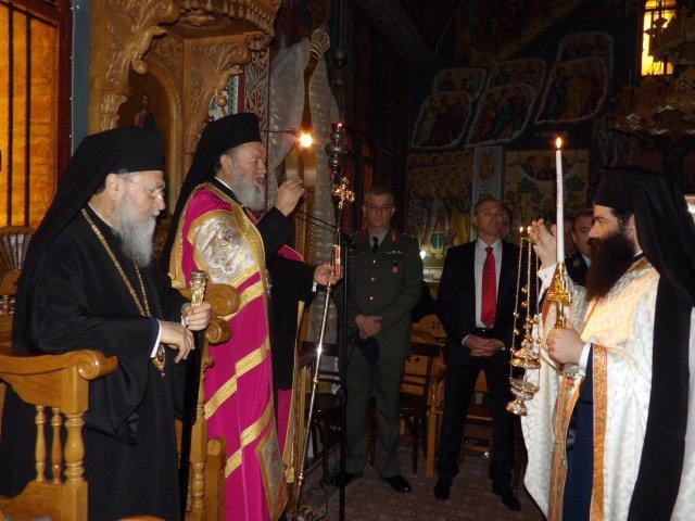 Πανηγυρικά εορτάστηκε και φέτος η εύρεση του Ιερού Σκηνώματος του Οσίου Πατρός Παταπίου στην ομώνυμη Ιερά Γυναικεία Κοινοβιακή Μονή, στο Λουτράκι