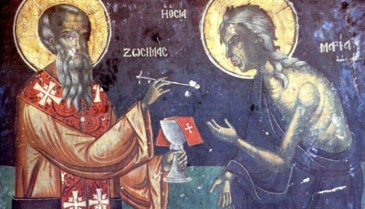 H εικόνα της Παναγίας στην οποία έβαλε μετάνοια η Οσία Μαρία η Αιγυπτία