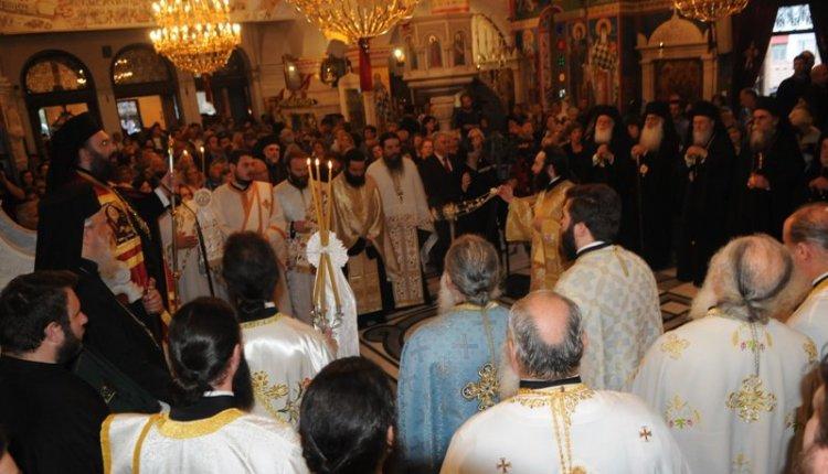 Πανηγυρικός εσπερινός για την γιορτή του Οσίου Ιωάννου του Ρώσου