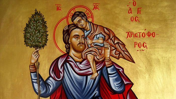 Πριν οδηγήσεις κάνε αυτή την προσευχή στον Αγιο Χριστοφόρο