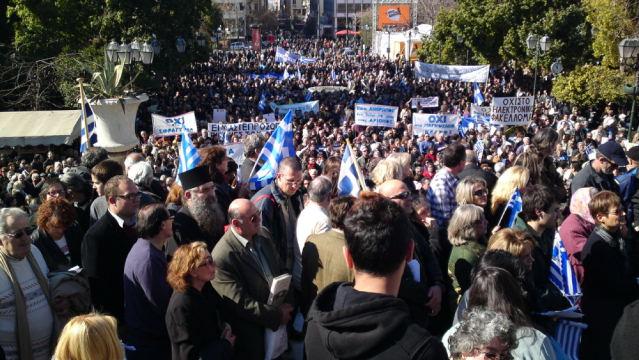 Το μήνυμα της συμπαράστασης των  Αγιορειτών στην συγκέντρωση της 21ης Μαίου για κάρτα-Σύνταγμα-Κυριακή αργία