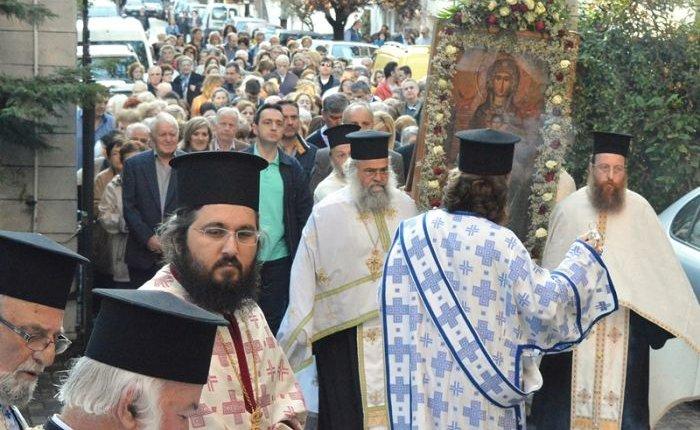 Ο Εορτασμός της Παναγίας Ελεούσης στην Εδεσσα