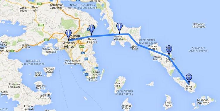 Η ΄΄ Ορθοδοξία Οδός΄΄ θα ενώσει Αθήνα-Τήνο