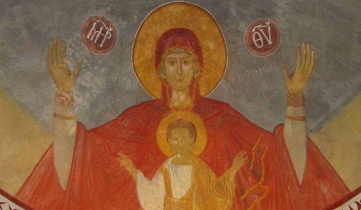 Ο 'Αγ. Ιωνάς του Κιέβου, η Παναγία , η Αγ.Αλεξάνδρα και η Αγ.Βαρβάρα -ΘΑΥΜΑ