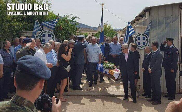 Στην Αργολίδα τα Λείψανα του Ανθυπασπιστή της ΕΛΔΥΚ Κ.Μπροδήμα