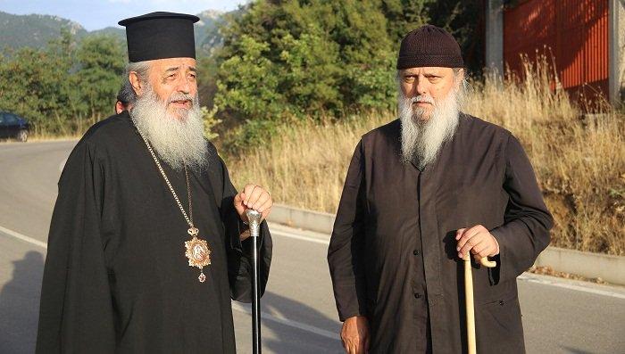 Στο μοναστήρι του αναπαύεται ο ηγούμενος της Μονής Αγάθωνος