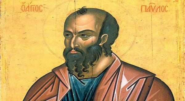 Η Εκκλησία της Ελλάδος εορτάζει την μνήμη του Αποστόλου Παύλου