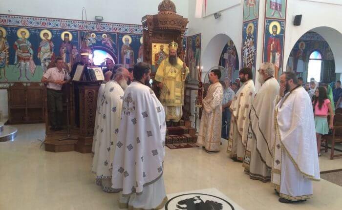 Ι.Μ. Κίτρους: Πανηγύρισε ο πρώτος στην Ελλάδα Ενοριακός Ναός του Αγίου Παϊσίου