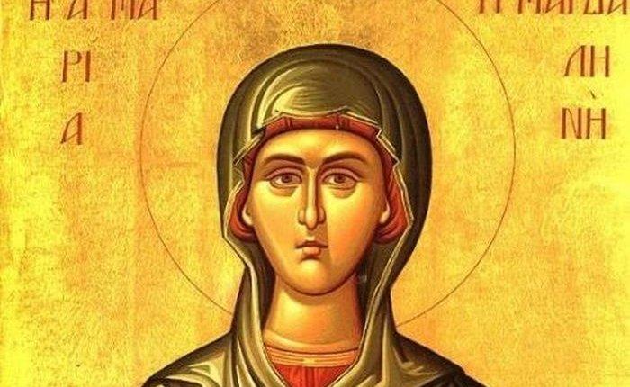 Η Αγία Μαρία η Μαγδαληνή θεραπεύει κοριτσάκι από βασκανία