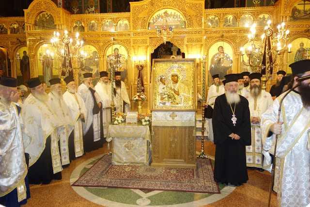 Η Κατερίνη υποδέχθηκε το Λείψανο του Αγίου Διονυσίου του εν Ολύμπω