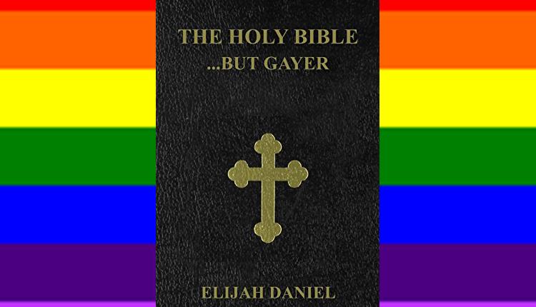Απίστευτή Βλασφημία! Έγραψε την Αγία Γραφή, για ομοφυλόφιλους με Θεό την Rihanna και τον Donald Trump ως Σατανά