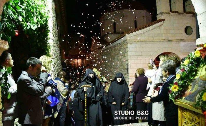 Η Εορτή του Αγίου Δημητρίου στο Βυζαντινό Μοναστήρι Καρακάλα Ναυπλίου