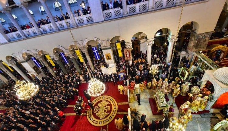 Η Θεσσαλονίκη εορτάζει τον πολιούχο της Άγιο Δημήτριο- Πλήθος λαού για προσκύνημα