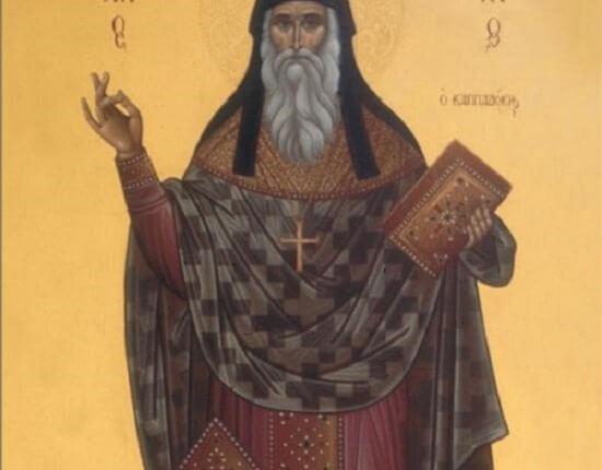 Aμέσως μετά «ξεκοκάλωσε» δι' ευχών του Αγίου Αρσενίου…