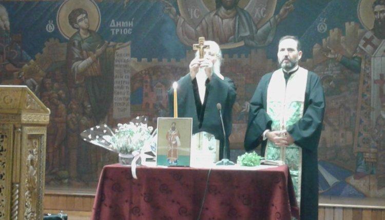 Πραγματοποιήθηκε ο Αγιασμός έναρξης για τις δραστηριότητες  του ΜΑΚΕΔΟΝΙΚΟΥ ΠΑΡΑΤΗΡΗΤΗΡΙΟΥ