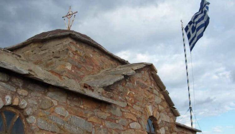 Ψηλά στην Βίγλα του Αγ. Όρους στο εκκλησάκι του Αγίου Μηνά-VIDEO