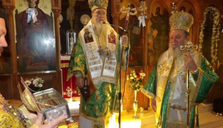 Μεγαλοπρεπής εορτασμός του Οσίου Παταπίου στο Λουτράκι (ΦΩΤΟ)
