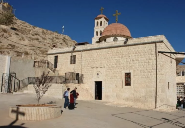 Χριστούγεννα στην ανδρική Μονή Αγίου Γεωργίου στην Σεντνάγια της Συρίας