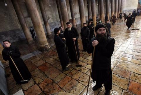 Επεισόδια στην Βηθλεέμ. Χτύπησαν τα αυτοκίνητα του Πατριάρχη Ιεροσολύμων και της Πομπής του