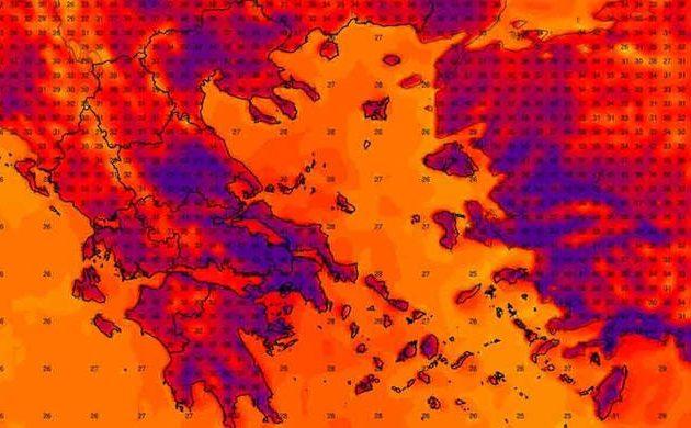 S.O.S. για Αθήνα, Πάτρα, Ηράκλειο, Καλαμάτα, Πειραιά: Θα πληγούν από καύσωνες και ξηρασίες