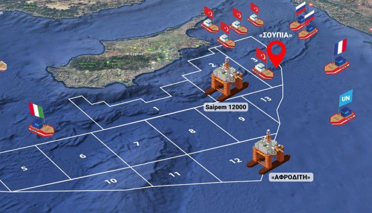 Η Τουρκία μας σέρνει σε πόλεμο – Υπό ναυτικό αποκλεισμό η Κύπρος: Επικοινωνία Αναστασιάδη-Τσίπρα και συμβούλιο πολιτικών αρχηγών