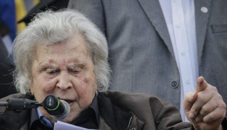 Συλλαλητήριο-Ομιλία Μ.Θεοδωράκη για την Μακεδονία