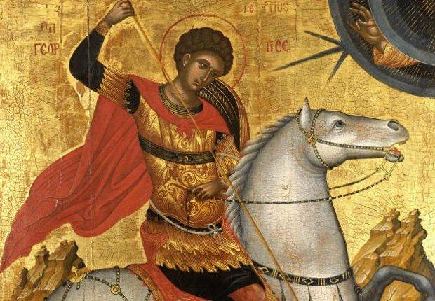 Ο Άγιος Γεώργιος Τον Σκουντούσε Λέγοντας:»Σήκω, Η Ώρα Πέρασε»…