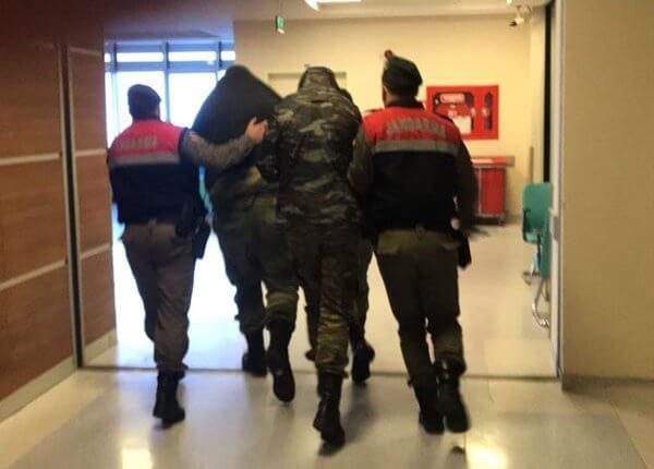 ΕΚΤΑΚΤΟ:Οι πρώτες εικόνες από την μεταφορά των Ελλήνων στρατιωτικών στο δικαστήριο!