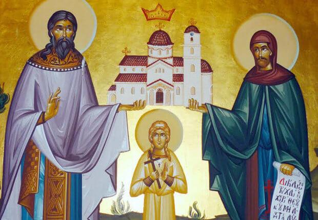 Συναξάρι 10 Απριλίου: Εορτή των Αγίων Ραφαήλ, Νικολάου και Ειρήνης
