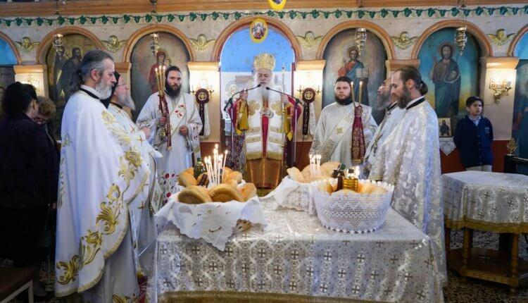 Ο εορτασμός των Αγίων Ραφαήλ, Νικολάου και Ειρήνης στην I.M. Βεροίας