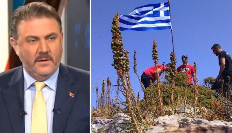 Το… τσιράκι του Ερντογάν ξαναχτυπά: «Μαζέψαμε όλες τις ελληνικές σημαίες από τις βραχονησίδες