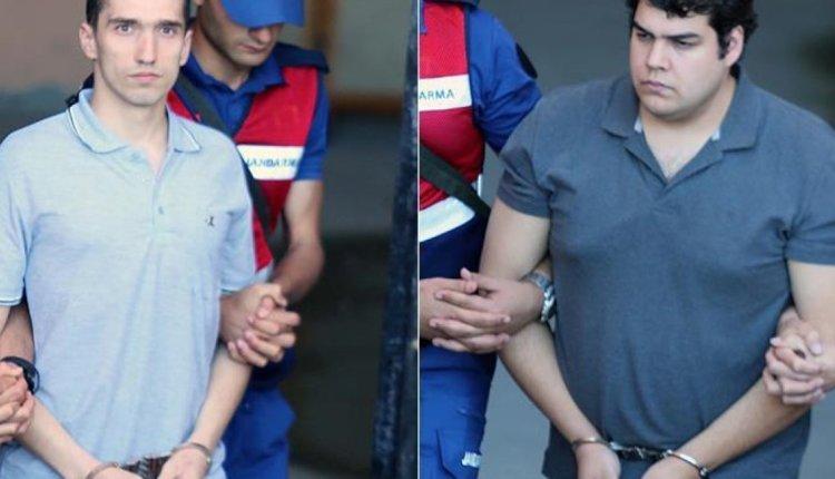Οι Τούρκοι μεταφέρουν σιδεροδέσμιους τους 2 Ελληνες Στρατιωτικούς μετά το τρίτο «όχι» στο αίτημα αποφυλάκισης