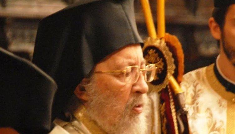 Εκοιμήθη ο Σεβασμιώτατος Μητροπολίτης Πέργης Ευάγγελος