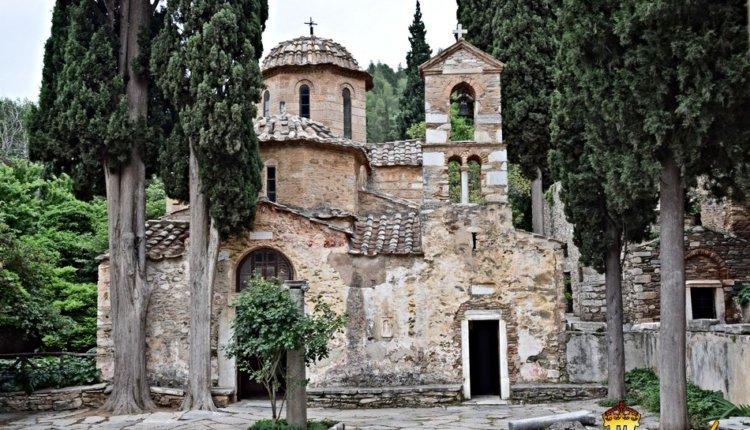 Η εορτή της Αναλήψεως του Κυρίου στο Αρχαίο Μοναστήρι της Καισαριανής
