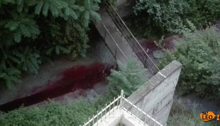 Ρέει κόκκινο ποτάμι – Άφωνοι οι πολίτες!