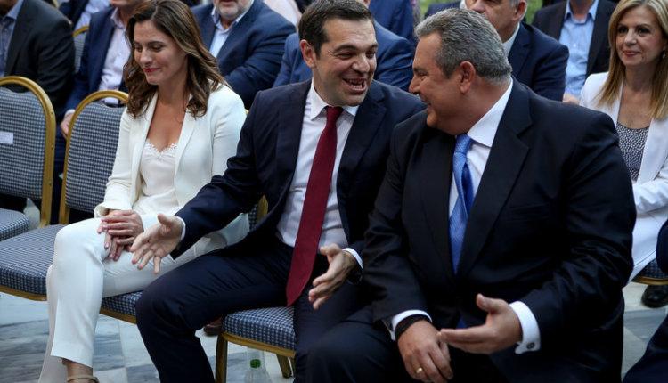 Οργή και αγανάκτηση με το σόου: Κοροϊδία και ψέματα από τους Τσίπρα-Καμμένο – Θεατρινισμοί του πρωθυπουργού με την γραβάτα
